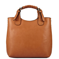 2014 New vintage genuine leather women handbags designer shoulder bag ladies totes OL woman messenger bags
