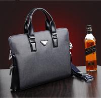 Paul men shoulder briefcase business computer handbag horizontal Korean version casual diagonal package