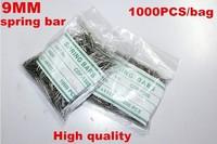 Wholesale 1000PCS / bag High quality watch repair tools & kits 9MM spring bar watch repair parts -041422