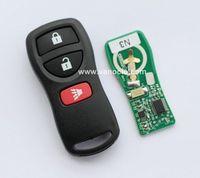 for Nissan Tiida , X-Trail , QASHQAI , Paladin 3 button remote key control 315mhz