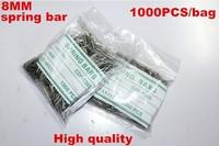 Wholesale 1000PCS / bag High quality watch repair tools & kits 8MM spring bar watch repair parts -041425