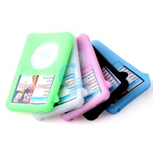 Soft Silicone Cover Case For iPod Classic 80GB Colorful#58467(China (Mainland))