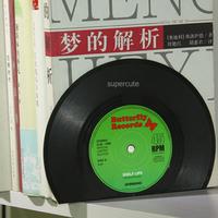 2014 classic retro albums Black Plastics desk storage sort out bookends pair / Simple book holder suporte para livros wholesale