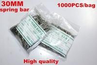 Wholesale 1000PCS / bag High quality watch repair tools & kits 30MM spring bar watch repair parts -041427