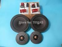 HIEND  Nubert 6.5    speaker kit (pair  of  woofer+ tweeter+ crossover) two channel kit