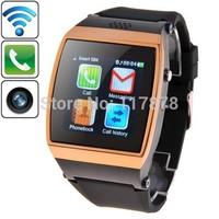 Bluetooth Watch 1.55 inch 0.3 Megapixels IPS Screen Touch GSM Celular Phone Call Surpport Music,FM