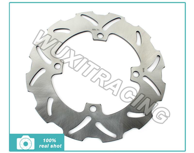 Rear Brake Disc Rotor For KAWASAKI KX 125 2003-2008 KX 250 2003 04 05 06 07 08 KX F 250 450 2006-2014 KLX R 450 2007-2014(China (Mainland))