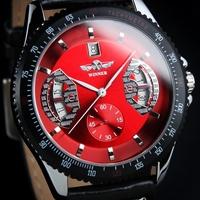 New Style Original Brand Winner Luxury Men's Auto Wind-Up Date Mechanical Wrist Watch