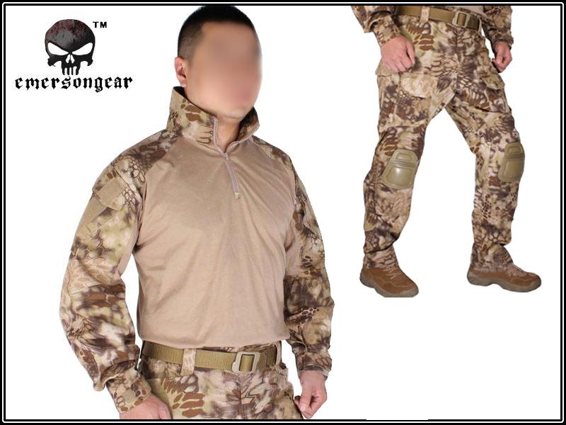 Униформа для медперсонала EMERSON Airsoft BDU Gen3 Panst Kryptek Gen3 HLD emerson abs airsoft wargame em7911 de