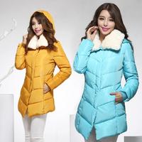 Size M-XXXL New 2014 women coat winter dress winter coat jackets women breasted wool coat cashmere jacket  women Down & Parkas