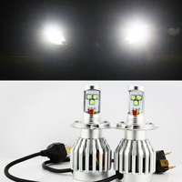 NEW Arrival! 2pcs H4 30W 3600LM CREE LED High Power Car Truck Xenon White Headlight High/Low Beam
