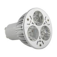 Led Spotlight 3W cabinet  LED Ceiling spot Light High-Power Living Room  AC85V-265V GU10  Free Shipping