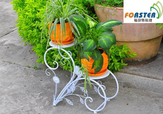 Iron floor-european indoor flower planter stand(China (Mainland))