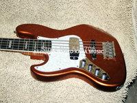 Bass Guitar Left Handed Bass Goldtop 5 Strings Jazz BASS Wholesale Musical instruments