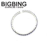 BigBing  jewelry fashion Blue Jewel Stretch Bracelet  fashion jewelry nickel free  HA063