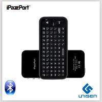 iPazzPort Sale mini wireless keyboard  Mini  Bluetooth Keyboard For Smart TV ,tablet pc keyboard gaming keyboard