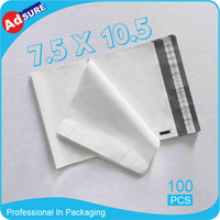 7.5*10.5 100 pcs/lot Poly Mailer Mailing Bag Courier Bags For Online Shopping Shipping Free