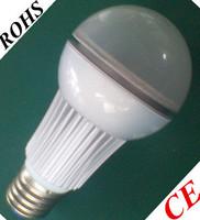 led e27 bulb 85v-230v 806lumen warm white led bulb