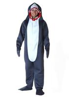 Hot sell 2014 Hallowmas costume COSPLAY costume ball jaws Adult shark costume
