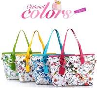 2014 spring women handbag l new arrival printing fashion totes shoulder bag large bag vintage women messenger bags AK423