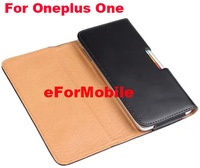 PU Case Belt Clip Case Mobile Phone Case  For Oneplus One