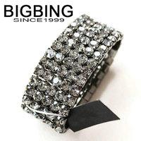 BigBing jewelry Fashion Rhinestone Bracelet Stretch Bracelet fashion jewelry good quality nickel free G335