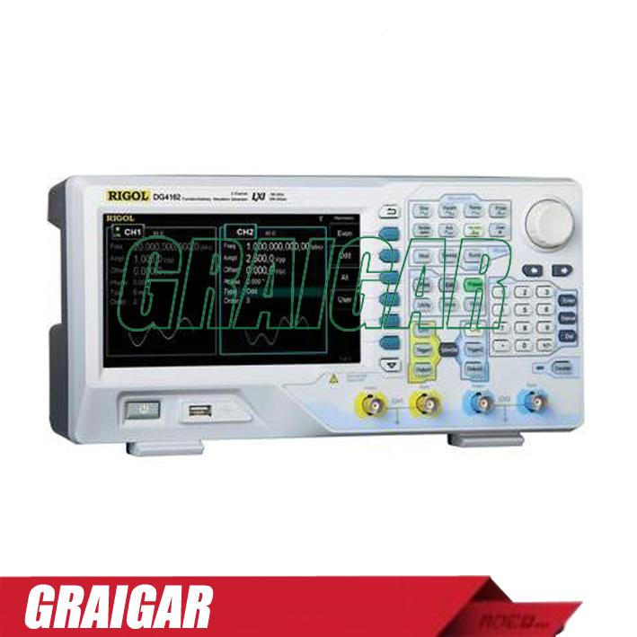 Генератор сигнала RIGOL DG4102 /100 500MSa/s 14 16k осциллограф siglent sds1102dl 100 2 7 32kpts 500msa s sds 1102dl