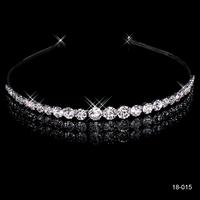 Hairbands Crystal crown bride wedding hair 2014 Wedding crown hair accessory bridal crown princess tiara bridal wedding 18015