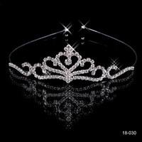2014 New Arrival Crystal crown bride wedding hair Wedding crown hair accessory bridal crown princess tiara bridal wedding 18030