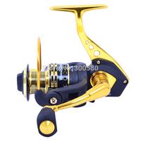 TOKUSHIMA  Metal Spinning Fishing Reel 12BB SA6000 Dual Bearing Sea Saltwater Wheel Ratio 5.5:1 Pesca Free shipping