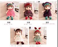 american girl doll Cute Cartoon Winter Coats Animal Mayfair Girls Plush Dolls Baby Toy Dolls Children's Toys Birthday Gift