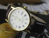 Fashionable Casual Male Watch Genuine Leather Men Watches Luxury Brand New Clock Men's Wristwatch