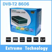 Russia/Thailand/ Europe DVB-T2 8606  terrestrial digital TV Receiver HD MPEG-2 MPEG-4 H.264 1080P Mini USB HDMI TV Receiver