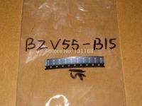 Diodes - Zener - Single: BZV55-B15  /DIODE ZENER 15V 500MW LLDS