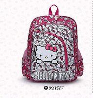 2014 new Free shipping children hello kitty school bags,cute girls backpack,children animal printing school backpack,mochila