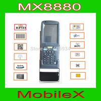 Windows/Android Handheld Terminal pda with fingerprint barcode Scanner LF HF UHF RFI thermal printer(MX8880I)