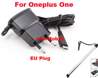 USB Mobile Phone Charger  EU Charger AC Wall Charger EU Power Adapter+Stylus Pen For  Oneplus One