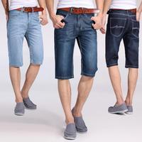Free shipping 2014 new arrival summer fashion leisure men's jeans shorts,famous brand denim men short pants men's Large Size