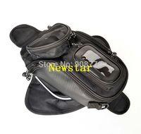 Free Shipping Brand New Universal Black Oil Fuel Tank Bag Magnetic Motorbike Oil Fuel Tank Bag