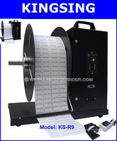 KS-R9(220V)  Automatic Bar Code Label Rewinder + Free shipping air express by DHL/Fedex