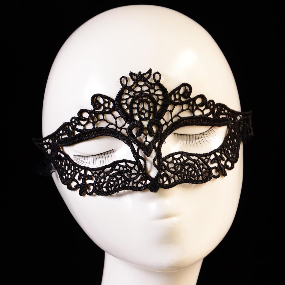 Wholesale Stylish Women Lace Hollow Masquerade Prom Face Eye Mask ...