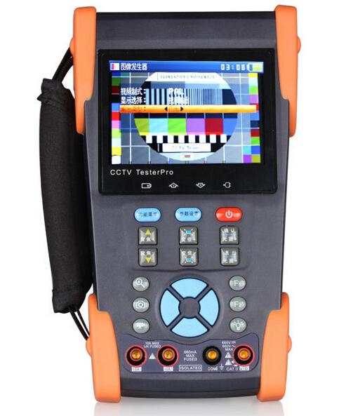 CCTV TESTER PRO 3.5 inch WOSHIDA HVT-2613(VI) Video monitor tester CCTV tester video tester(China (Mainland))