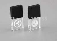 Free logo+Free shipping+The newest mini crystal USB flash drive 1GB/2GB/4GB/8GB/16GB/32GB/ USB Memory stick  Waterproof USB pen