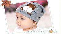 newborn baby boys girls cute Christmas gift autumn keep warm soft Cotton cartoon animal dog bear strawberry elastic Skull hats