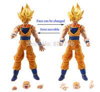 6 pcs Dragonball Z Dragon ball DBZ Goku Piccolo Action Figure Toy Set Anime