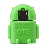 OTG Adapter Connector for Mobile Phone to USB Flash Disk Tablet PC Green #gib