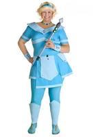 Hot sell 2014 Hallowmas costume COSPLAY fancy ball poker queen Lady Samurai CLARA queen cloth