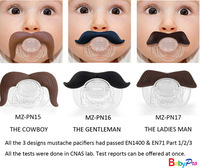 High Quality Funny Dummy Prank Baby Pacifier Novelty beard Children Child Soother Nipple chupeta baby moustache teether D40