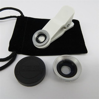 White Magnetic Wide 180 Detachable Fish Eye Lens for Iphone4 4S 5 5S