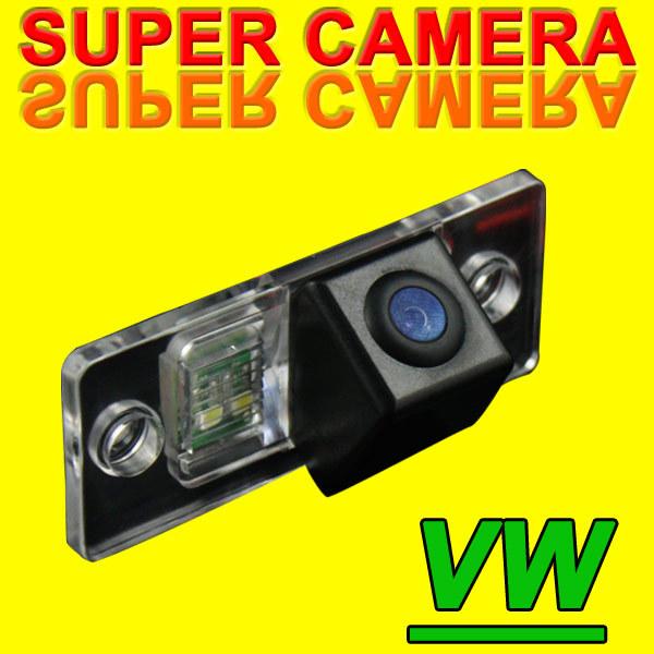 Free Shipping Car Reverse Camera for Toureg Tiguan Santana Old Passat Polo hatchback porsche skoda Night Vision back up Camera(China (Mainland))